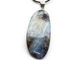 Boulder Opal Pendant w/Sterling Silver Bail 41mm (BOP341)
