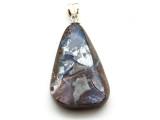 Boulder Opal Pendant w/Sterling Silver Bail 34mm (BOP349)