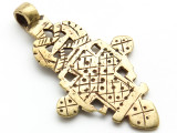 Coptic Cross Pendant - 65mm (CCP643)