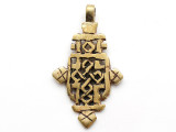 Coptic Cross Pendant - 62mm (CCP646)