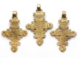 Coptic Cross Pendant - 54mm (CCP667)