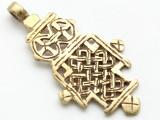 Coptic Cross Pendant - 69mm (CCP673)