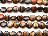 Koroit Round Tabular Gemstone Beads 10mm (GS4707)