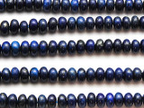 Lapis Lazuli Rondelle Gemstone Beads 6-7mm (GS4708)