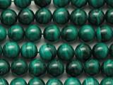 Malachite Round Gemstone Beads 8mm (GS4717)
