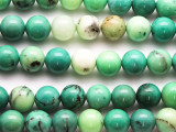 Green Moss Opal Round Gemstone Beads 10mm (GS4720)