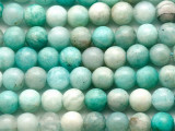 Amazonite Round Gemstone Beads 6mm (GS4745)