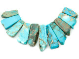 Aqua Terra Jasper Gemstone Pendant - Set of 11 (GSP2388)
