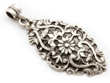 Ornate Floral Pendant 58mm (AP2033)