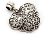Ornate Butterfly Pendant 47mm (AP2036)
