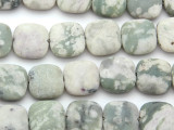 Matte Jade Square Gemstone Beads 15mm (GS4770)