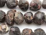 Garnet Faceted Rough Nugget Gemstone Beads 10-20mm (GS4781)