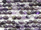 Amethyst Nugget Gemstone Beads 8-10mm (GS4790)