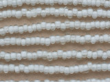 Clear Irregular Rondelle Glass Beads 7mm (JV1267)