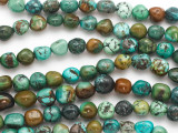 Turquoise Nugget Beads 8-10mm (TUR1341)