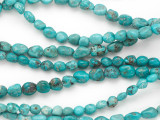 Turquoise Small Nuggets Beads 6-8mm (TUR1348)