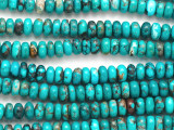 Turquoise Rondelle Beads 8mm (TUR1356)