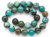Turquoise Round Beads 16mm (TUR1393)