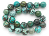 Turquoise Round Beads 16mm (TUR1395)