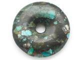 Turquoise Donut Pendant 48mm (TUR1370)