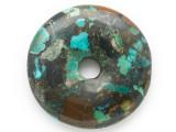 Turquoise Donut Pendant 48mm (TUR1371)