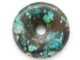 Turquoise Donut Pendant 46mm (TUR1374)