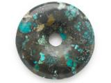 Turquoise Donut Pendant 48mm (TUR1378)