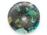 Turquoise Donut Pendant 47mm (TUR1379)