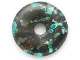 Turquoise Donut Pendant 47mm (TUR1383)
