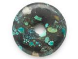 Turquoise Donut Pendant 51mm (TUR1386)