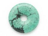 Turquoise Donut Pendant 25mm (TUR1405)