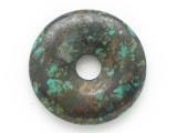 Turquoise Donut Pendant 25mm (TUR1408)