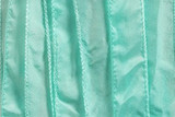 "Pastel Turquoise Hand Stitched Silk Ribbon 42"" (SK3029)"