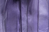 "Lavender Purple Hand Stitched Silk Ribbon 42"" (SK3031)"