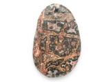 Leopardskin Jasper Gemstone Pendant 52mm (GSP2453)