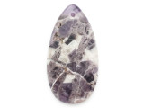 Amethyst Gemstone Pendant 60mm (GSP2459)