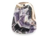 Amethyst Gemstone Pendant 45mm (GSP2465)