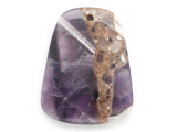 Amethyst Gemstone Pendant 45mm (GSP2466)