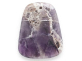 Amethyst Gemstone Pendant 45mm (GSP2467)