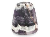 Amethyst Gemstone Pendant 45mm (GSP2468)