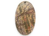 Red Creek Jasper Gemstone Pendant 60mm (GSP2475)