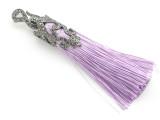 """Light Purple Ornate Thread Tassel - 4"""" (AP2107)"""