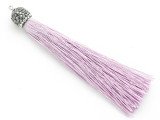"Light Purple Rhinestone Thread Tassel - 3.5"" (AP2115)"