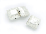 Square Pillow Aluminum Bead 10mm (ME477)