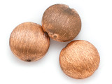 Round Tabular Copper Bead 16mm (ME503)
