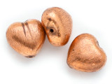 Heart Copper Bead 16mm (ME506)