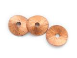 Bent Disc Copper Bead 10mm (ME512)