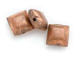 Square Pillow Copper Bead 10mm (ME517)