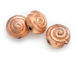 Spiral Copper Bead 14mm (ME520)