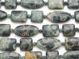 Kambaba Jasper Mixed Tabular Gemstone Beads 15-30mm (GS4869)